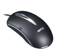 BenQ M 800 Trinity - Mouse - optical - 3 button(s) - wired - PS/2, USB - white