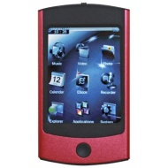 Eclipse Touch 4GB Video MP3 Player Camera in Red
