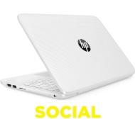"HP Stream 11-y053na 11.6"" Laptop - White"