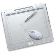 """ADESSO CT-12000A 9"""" x 12"""" Active Area USB Graphics Tablet with Adobe PhotoShop Elements 3.0 - Retail"""