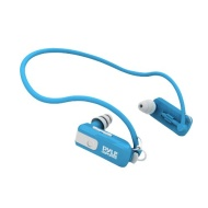 Pyle PSWB4BL Waterproof Neckband MP3 Player and Headphones for Swimming, Water Sports - Blue