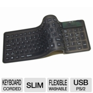 Adesso Flexible Compact Keyboard AKB-220