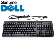 Dell Keyboard Teclado QWERTY Inglés, negro [Importado]