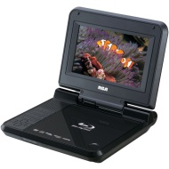 """RCA BRC3073 7"""" PORTABLE BLU-RAY(TM) & DVD PLAYER"""