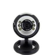 Micropix - USB Webcam With Built-in Mic For Windows XP/2000/2003/Vista/Win 7 Skype etc - 10x Digital Zoom