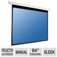 "Mustang SC-M84D4:3 84"" 4:3 Manual Pull Down Projection Screen"