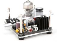 amplificatore per cuffie valvolare Bravo Audio V1 tube amplifier valve Electro Harmonix 6922 tube nuovo