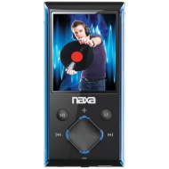 Naxa NMV-173 Portable Media Player with 1.8-Inch LCD Screen, Built-in 4GB Flash Memory and SD Card Slot (Silver