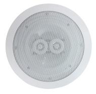Electrovision Haut-Parleur de Plafond Blanc 16.50cm 2 Voies (8 Ohms 120W)