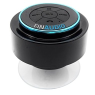 IPX7 Waterproof Shower Speaker - Bluetooth Compatible - **Lifetime Guarantee** - Perfect for the Shower, Pool, Bath, Beach, Boat, Car, or Outside - iP