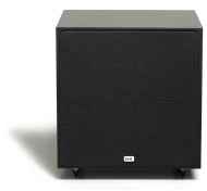 NHT Super 8 110-Watt Powered Subwoofer (Gloss Black, Single)