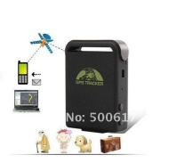 Tk102 Mini Global Car GPS Tracker,real Time 4 Bands Gsm/gprs Vehicle Tracking Device,900/1800/1900mhz Network