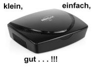Digitaler DVB-T Receiver Digiquest SMD100, klein, einfach, gut
