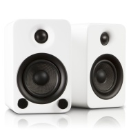 Kanto YU3GW Powered Bookshelf Speakers (Gloss White)