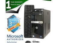 HP Compaq 500B Microtower Desktop