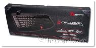Thermaltake Esports Challenger Pro USB Keyboard Red Illumination Back Light