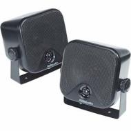 3M 2haut-parleurs pod bidirectionnels pour voiture/camion/bateau/caravane avec supports de fixation 112mm