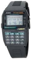 CASIO DBC310-1 DataBank Men's Watch