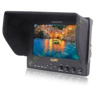 2013 nouveau Lilliput moniteur surveiller 7'' portable LED 1280*800 IPS 800:1 contraste avec Suitcase + Folding Sun Shade Cover pour cemera vidéo DV D