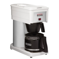 Bunn Classic 10-Cup Home Coffee Maker - White