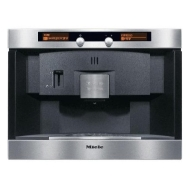 """Miele CVA2650SS 20"""" Nespresso Coffee System with Large Capacity Container & Patented Brewing Unit: Stainless Steel"""