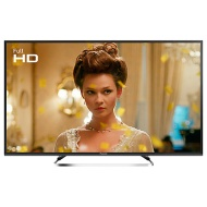 "Panasonic 49ES503BSAT LED Full HD 1080p Smart TV, 49"" With Freeview Play, Freesat HD & Adaptive Backlight Dimming, Black"