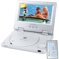 Protron PDV388 7 Portable Dvd Player With Headrest Mt& Access