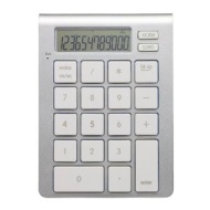 SMK-Link iCalc Bluetooth Calculator Keypad for Apple Mac and PC (VP6274)
