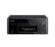 Denon CEOL Network CD Music Receiver with Wi-Fi and Ethernet Connectivity - Black