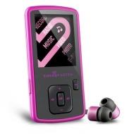 Energy Sistem Energy MP4 Slim 3 Pink Glow 4GB - Reproductor MP3 (MP4, Azar, Repetir, Negro, Rosa, Digital, Flash-media, 4 GB)