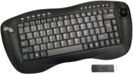 Wireless Trackball Media Center Keyboard (RF)