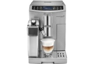 DELONGHI ECAM 510.55.M PrimaDonna S Evo Kaffeevollautomat Silber (Kegelmahlwerk, 1.8 Liter Wassertank)