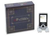 Classic Books and Music MP3 Player