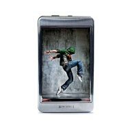 Riptunes MP2128S 8GB 2.8-Inch Touch Screen MP3 and Video Player (Silver)