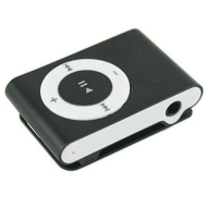 Black mini Clip Mp3 player