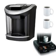 "Keurig Vue V700 Brewing System Machine w/ Mind Reader ""Anchor"" Coffee Pack Drawer for Keurig Vue Packs & Two 11 Oz. Ceramic Coffee Mugs"