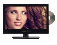 "Sceptre E165BD-MQ 16"" 720p 60Hz LED HDTV DVD Combo with Car Adapter (Piano Black)"