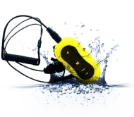 Aerb® 4G Waterproof MP3 Music Player for Swimming & other Sports (IPX-8 Standard) (Yellow)
