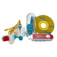 INTOVA INWP-HS512 H2O Man 512MB Waterproof MP3 Player