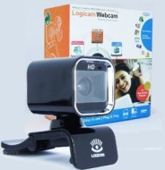 Real HD Webcam, Logicam HD webcam, High Definition webcam with Built-in microphone, Webcam with Good quality image, Webcam for great audio