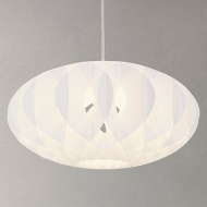 House by John Lewis Nate Easy-to-Fit Ceiling Shade