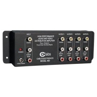 CE LABS AV 400 Prograde Composite A/V Distribution Amplifiers (1 input ¿ 4 output)