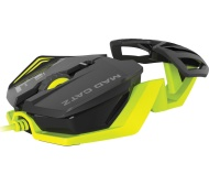 MAD CATZ R.A.T. 1 Optical Gaming Mouse - Black & Green