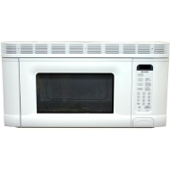 Sharp 1.4 Cu. Ft. 950 Watts Over the Range Microwave - White