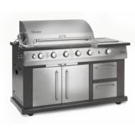 Landmann Avalon 7 Burner Gas BBQ with Cabinet and Rotisserie