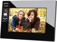 SONY 索尼 DPF-D710 7英寸 128MB 清晰简约系列 数码相框 典雅黑