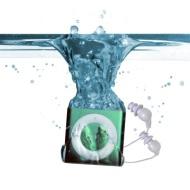 Underwater Audio  Waterproof iPod Swimbuds Bundle, (Green)