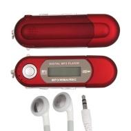 Red 4GB USB LCD Mini MP3 Player FM Radio Voice Recorder