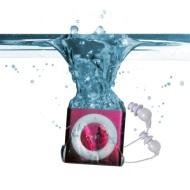 Underwater Audio Waterproof iPod Swimbuds Bundle (Pink)