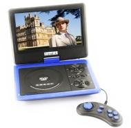 "9.5"" LCD Screen Portable DVD Player MP4 MP3 WMA MPG AVI VOB DIVX JPEG TV USB Games FM Radio SD Card Game In Car Swivel Flip Black 959"